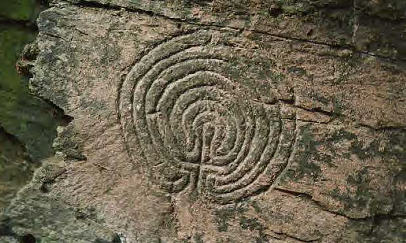 Labyrinth Rock Carvings